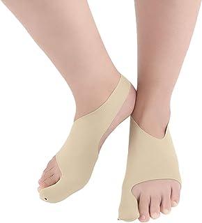 Anself Bandage de protection de la cheville Produit de protection des pieds très respirant et respirant Trousse de correction du gros orteil du valgus Ceintures de soulagement de la douleur