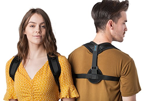 Comfortable Posture Corrector for Women or Men by Atlas | The Best Posture Brace for Women and Men | Easy to Wear | One Size Fits Most - Up to 50'' Chest | Carry Bag Included | Designed in USA by Atlas Industries (Image #1)
