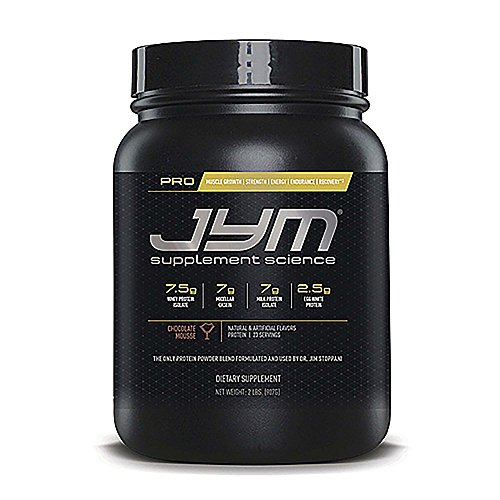 JYM Supplement Science, PRO JYM, An optimal Blend of Whey, Casein, and Egg Proteins, Chocolate Mousse, 2lb Protein