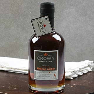 product image for Crown Maple Amber Color Rich Taste Organic Maple Syrup (12 ounce)