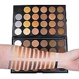 Waterproof Eye Shadow Palette, 48 Color Shimmer Matte Pearl Colors Set by Coerni (B)