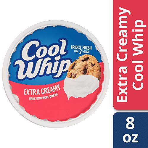 Cool Whip Extra Creamy Whipped Topping, 8 oz Tub: Amazon.com: Grocery & Gourmet Food