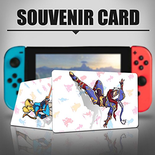 Nfc Game Cards For The Legend Of Zelda Breath Of The Wild For Switch Wii U   22Pcs Standard Cards Champions 4 Pack  Wolf Link  Epona