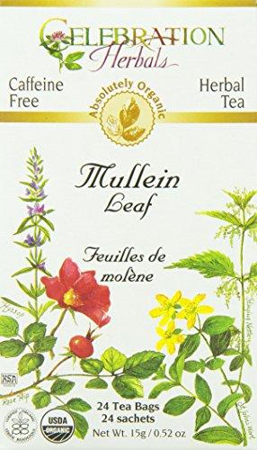 Celebration Herbals Organic Herbal Mullein