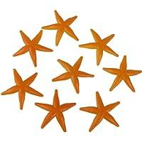Zonster 8pcs, Estrellas de mar de plástico Modelo