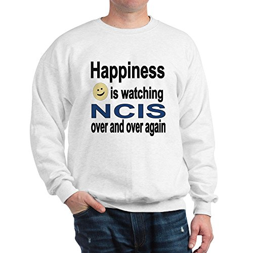 CafePress Happiness Is Watching NCIS - Classic Crew Neck Sweatshirt