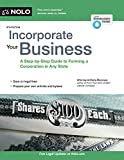 img - for Incorporate Your Business: A Step-by-Step Guide to Forming a Corporation in Any State book / textbook / text book