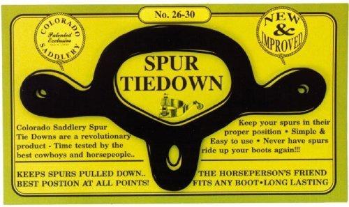 The Colorado Saddlery Spur Tie Down (Spur Straps Saddlery)