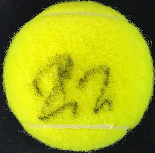 Roger Federer autographed Wilson US Open 4 Tennis Ball (JSA)
