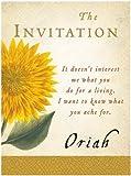 The Invitation, Oriah, 0061139092