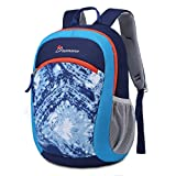 Mountaintop Little Kid & Toddler Backpack for Kindergarten or Pre-School with Chest strap and Drink Bottle Holder Dark Blue