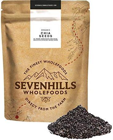 Sevenhills Wholefoods Semillas de Chia Crudas Orgánico 1kg