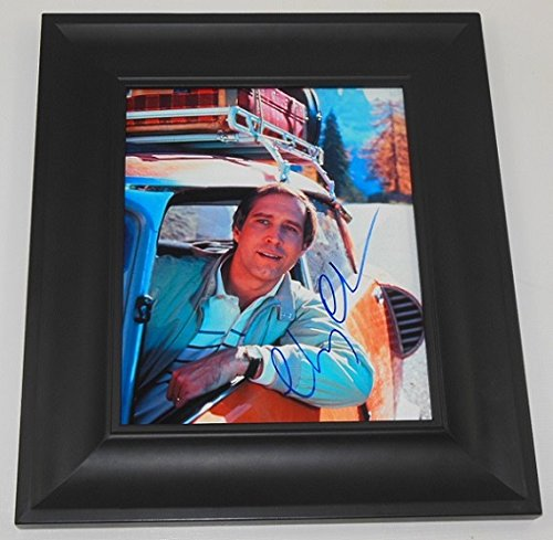 Vacation Clark Griswold Chevy Chase Authentic Signed Autographed 8x10 Photo Framed Loa (Christmas National Vacation Lampoons Script)