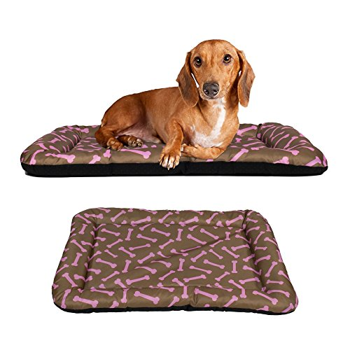 Dog Crate Pad Bolster Bed Pet Mat Waterproof, 24