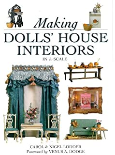 The new dolls house do it yourself book in 112 and 116 scale making dolls house interiors decor and furnishings in 112 scale solutioingenieria Choice Image
