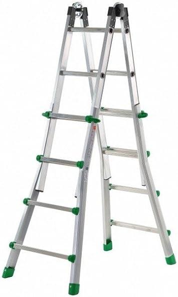 Codiven. S.L. - Escalera Multiuso Aluminio 8+8 Ta-4: Amazon.es ...