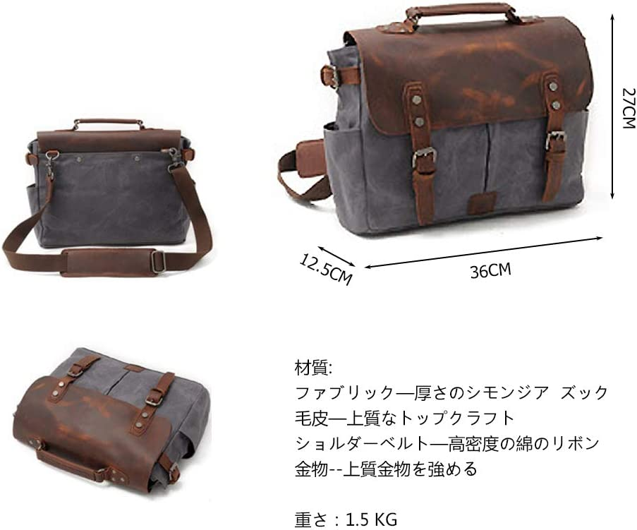 Jfzs Multifunktions Canvas Motorradtasche Seitentasche Satteltaschen Schulter Umhängetasche 1 Taschen 36 27 12 5 Cm Grey Küche Haushalt
