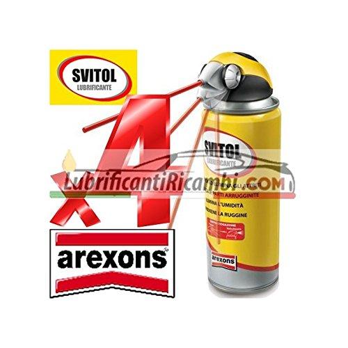 4 x Svitol - NLGI sboccante multiusos Lubricante bañado 400 ml - 4129 + 2 x pasta lavamani 375 ml): Amazon.es: Bricolaje y herramientas