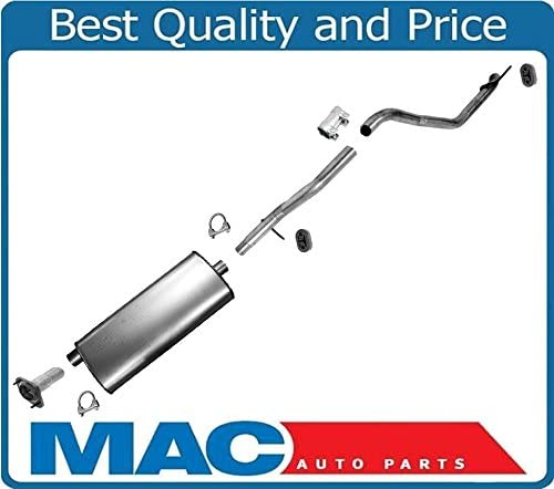 Muffler Exhaust Pipe System For 05-10 Jeep Grand Cherokee Commander 3.7L 05-09 4.7L