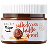 Wickedly Prime Salted Cocoa Truffle Spread with Natural Caramel Flavor, 13.2oz