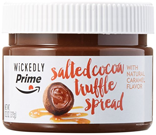 Wickedly Prime Salted Cocoa Truffle Spread with Natural Caramel Flavor 132 Ounce
