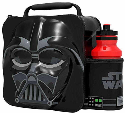 (Boyz Toys Star Wars Darth Vader 3d Thermal Lunch Bag Black)