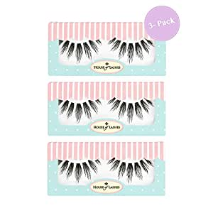 House of Lashes | Bambie 3 Combo Pack| Premium Quality False Eyelashes for a Great Value| Cruelty Free | Eco Friendly
