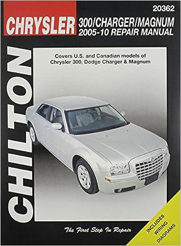2010 dodge charger wiring diagram chilton total car care chrysler 300  charger   magnum  2005 2010  chilton total car care chrysler 300