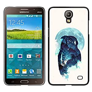 EJOY---Cubierta de la caja de protección la piel dura para el ** Samsung Galaxy Mega 2 ** --Noctámbulo
