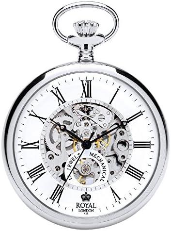 [ロイヤルロンドン] 懐中時計 90049-01 正規輸入品 シルバー