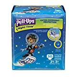 Pull ups Night-Time Training Pants 2t-3t, Boy, Big Pack, 50-Count