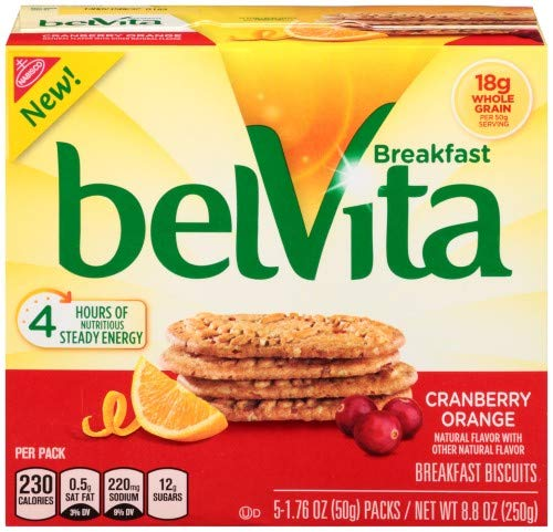 Belvita Cranberry Orange Breakfast Biscuits (Pack of 20) by Generic (Image #1)