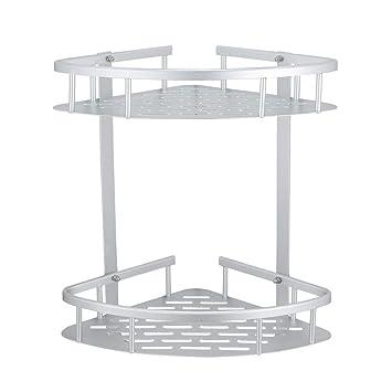 Amazon.com: GERUIKE - Estante de ducha de aluminio ...