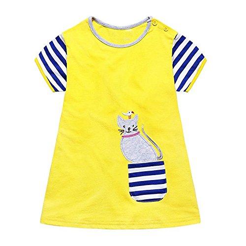 1800 Costumes Uk (Huaqiang fashion Girls Summer Dresses NEW Brand Kids Applique Dress Princess Costume Vestido Infantil Children Tunic Dress for Girls Clothes 26 2T)