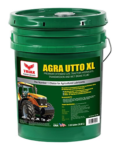 Triax Agra UTTO XL Synthetic Blend Premium Tractor Hydraulic & Transmission Oil – Extreme Performance – Replaces Most OEM Fluids (1 x 5 GAL Pail)