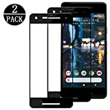 [2 - Pack] Google Pixel 2, Linboll [HD Clear] [3D Full Coverage] [9H Hardness] [Anti - Scratch] Tempered Glass Screen Protector For Google Pixel 2 (black)