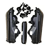 #2: 4x RSTFA Engine Upper Compartment Partition Panel with Nylon Fastener for BMW X5 X 6 E70