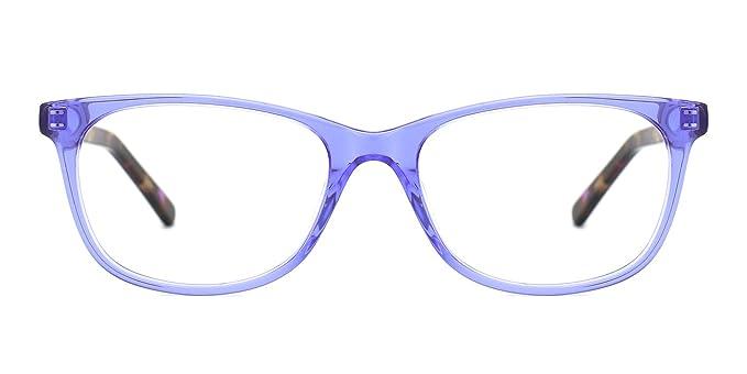d92fce707b TIJN Vintage Women Square Cat Eye Glasses with Clear Lens Eyewear Frames