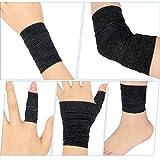 Pangda 12 Pieces Adhesive Bandage Wrap Stretch