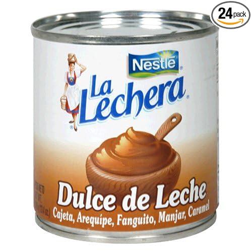 Amazon.com : Nestle La Lechera Dulce De Leche (Caramel), 13.4-Ounce Cans (Pack of 24) : Sweetened Condensed Milk : Grocery & Gourmet Food