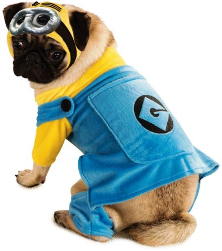 Costume Minion Dog (Despicable Me Minion Pet Costume,)