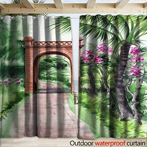 warmfamily Panel de Cortina con Ojales de bambú con diseño de ...