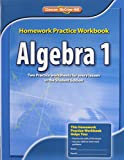 Algebra 1 Homework Practice Workbook, CCSS, Glencoe McGraw-Hill Staff, 0076602915