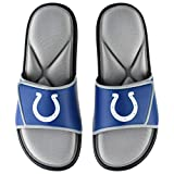 Indianapolis Colts NFL Mens Foam Sport Slide - M