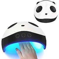 Oenbopo 36W UV Panda Nail Dryer Lamp USB Rechargeable Auto-sensing Nail Timing Gel Polish Curing Light Nail Art Machine