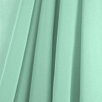 Amazon Com Ak Trading 58 X 168 Mint Green Chiffon Drapes Panels