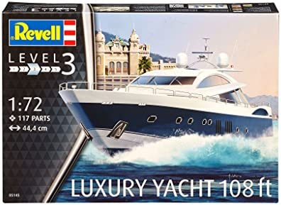 Revell 05145 44.4 cm Luxury Yacht Model Kit