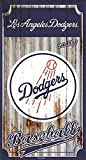 Los Angeles Dodgers Corrugated Metal Wall Art