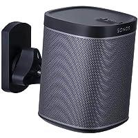 Mount-It MI-SP08 Speaker Wall Mount Bracket for SONOS PLAY 1 and SONOS PLAY 3 Universal Wall Mount Speaker Stands Tilt Swivel Adjustable