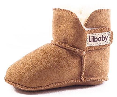 Sheepskin Baby Bootie - 1